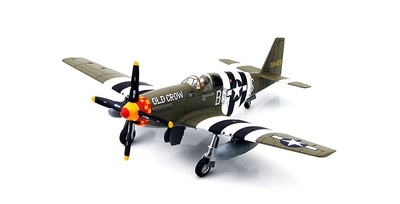"P-51B Mustang Capt. C.E. ""Bud"" Anderson, 363rd FS/357th FG, England, June 1944, 1:48, Hobby Master"