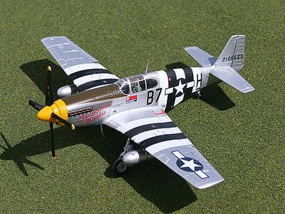 """P-51B Mustang """"Ferocious Frankie"""", 1:72, Gemini Aces"""