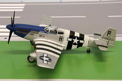 """P-51B Mustang """"Preddy"""", 1:72, Gemini Aces"""