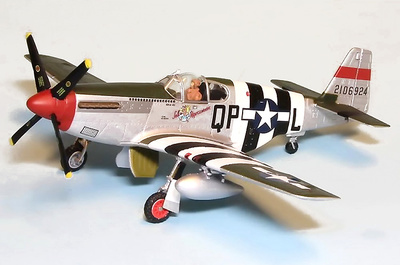 "P-51B Mustang Q-PL Ralph ""Kid"" Hofer Salem Representative 334 th FS 4th FG, 1:72, Gemini Aces"