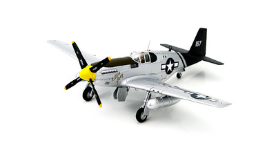 "P-51C Mustang ""Little Jeep"" of Capt Forrest H. Parham 75th FS/23rd FG, Luliang, Nov 1944, 1:48, Hobby Master"