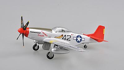 P-51D, 301FS, 1:48, Easy Model