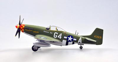 P-51D, 362FS, 357FG, Arval J.Roberson, 1944, 1:48, Easy Model