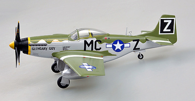 P-51D, 79FS, Glengary Guy, 1:48, Easy Model