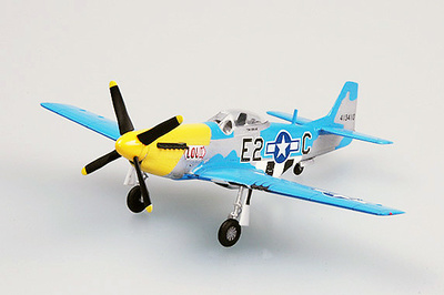 P-51D Louiv, E2*C 375th fs, 361th fg, 1:72, Easy Model