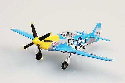 P-51D Louiv, E2*C 375th fs, 361th fg, 1:72, Easy Model