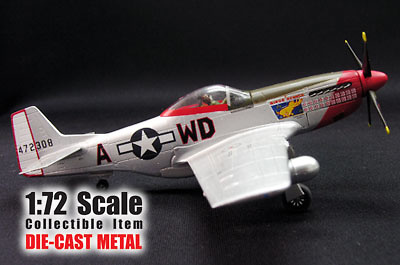 "P-51D MUSTANG ""Maj. Pierce Mcknnon"", 1:72, Witty Wings"