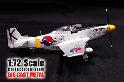 P-51D Mustang, 1st Fighter Squadron, RoKAF, 1:72, Witty Wings