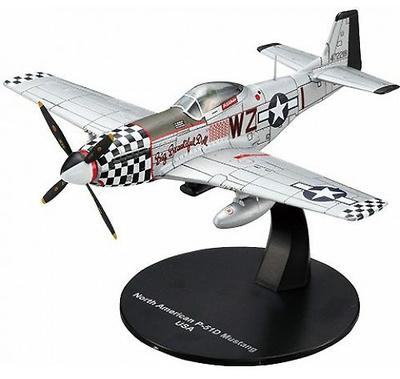 P-51D Mustang, 2ª G.M., USA, 1:72, DeAgostini