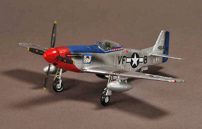 P-51D Mustang, 336th Fighter Squadron, USAAF, 1945, 1:72, War Master