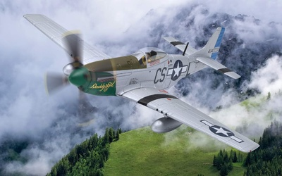 "P-51D Mustang, 44-14733/CS-L ""Daddy's Girl"", Capt. Ray Wetmore, Norfolk, 1945, 1:72, Corgi, 1:72, Corgi"