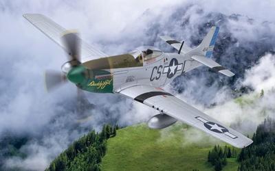 "P-51D Mustang, 44-14733/CS-L ""Daddy's Girl"", Capt. Ray Wetmore, Norfolk, 1945, 1:72, Corgi"