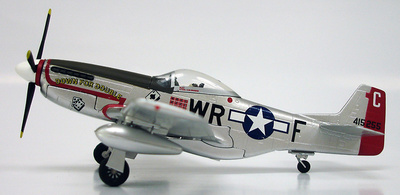 P-51D Mustang, Down for Double, Gordon Graham, 1945, 1:72, Witty Wings