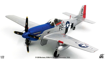 P-51D Mustang, George Preddy, 328th FS 352nd FG 8th Air Force, Diciembre, 1944, 1:72, JC Wings