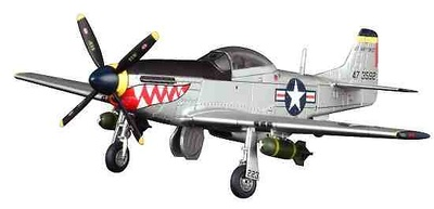 "P-51D Mustang, USAF ""Shark's Mouth"", 1:72, Dragon Wings"