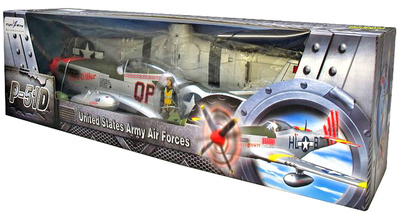 "P-51D Mustang ""Man O War"" WWII, USAF 4th Fighter Group, 1:18, Flight Wing"