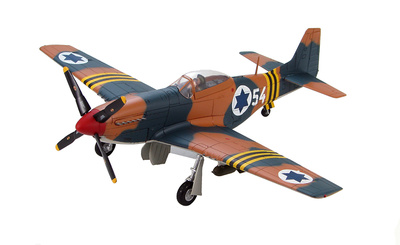 "P-51D Mustang 105th Squadron ""Scorpion"" Israeli Air Force, Suez Campaign, 1956, 1:48, Hobby Master"