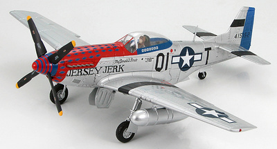 "P-51D Mustang 356th FG, 361st FS, ""Jersey Jerk"" flown by Major Donald Strait, 1:48, Hobby Master"