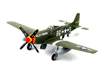 P-51D Mustang 414450, Capt C. E. Bud Anderson 363rd FS, 357th FG, 1944, 1:48, Hobby Master