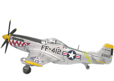 P-51D Mustang Butchie, USAAF 12th FBS,18th FBG, 5th AF, 1:72, Witty Wings