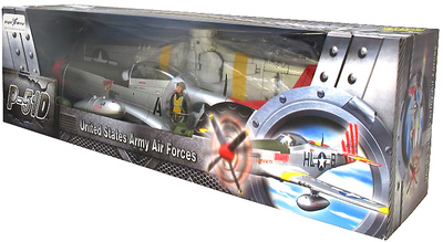 "P-51D Mustang ""Easy"" WWII, USAF 332nd Fighter Group, 1:18, Flight Wing"