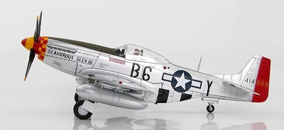 "P-51D Mustang ""Gentleman Jim"" Capitán James W. Browning, 44-14937, 363rd FS, 357th FG, 1944, 1:48, Hobby Master"