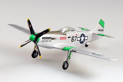 P-51D Mustang IV, 45FS, 15FG, USAF, 1945, 1:72, Easy Model
