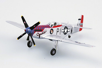 P-51D Mustang IV, 59FS 356FG 8AF, Anglia, 1945, 1:72, Easy Model