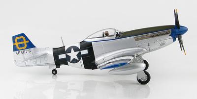 """P-51D Mustang """"Jumpin Jacques"""" 464076, 3rd FS, 3rd FG, Filipinas, 1945, 1:48, Hobby Master"""