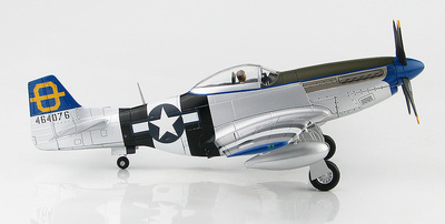 """P-51D Mustang """"Jumpin Jacques"""" 464076, 3rd FS, 3rd FG, Philippines 1945, 1:48, Hobby Master"""