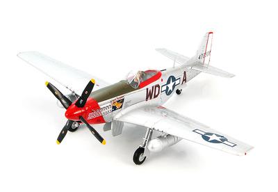 "P-51D Mustang ""RIDGE RUNNER III"" 44-72308, Maj. Pierce McKennon 335th FS, 4th FG, Spring 1945, 1:48, Hobby Master"