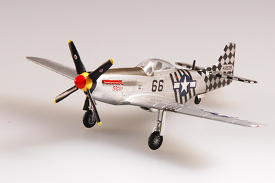 P-51K, 6ACA 1ACG, India, 1945, 1:72, Easy Model