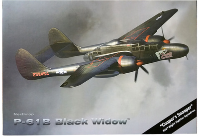 "P-61B Black Widow, ""Cooper's Snooper"" 546th Night Fighter Squadron, 1:72, Air Force One"