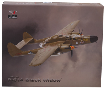 "P-61B Black Widow, ""Skippy"" Nocturnal Nemesis, 1:72, Air Force One"