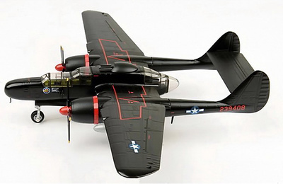 "P-61B Black Widow, ""Lady in the Dark"" Mayor Lee Kendall, 548th NFS, 1945, 1:72, Air Force One"