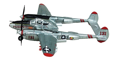 P38 Lightning Pudgy, 1:72, Witty Wings