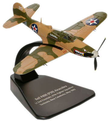 P39 Airacobra, Lt. Zed Fountain, 67th Fighter Squadron, USAAF, Tontoula, Nueva Caledonia, , 1942, 1:72, Oxford