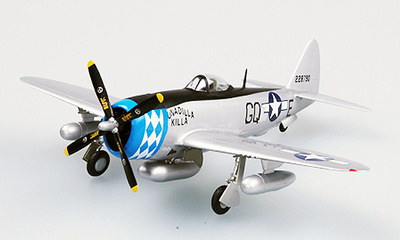P47D Thunderbolt, 355FS, 354FG, 1:72, Easy Model