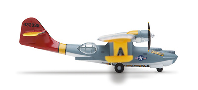 PBY-5A Catalina, Consolidated Vultee , USAF Air & Sea Rescue, 1:400, Herpa