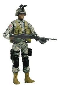 PFC. AL PRESCOTT, U.S. Army, 1:18, Bravo Team