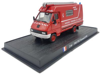 PSE Fire Truck Renault B90, 1988, 1:72, Atlas Editions