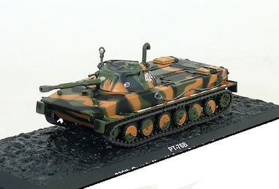 PT-76B, 336th Guards Naval Infantry Brigade, Russia, 1993, 1:72, Altaya