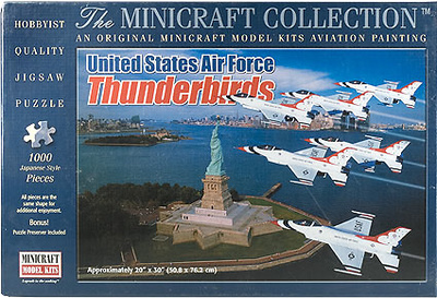 PUZZLE, USAF Thunderbirds, 1000 piezas