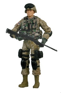 PVT. PAUL WINCEK, U.S. Marine, 1:18, Bravo Team