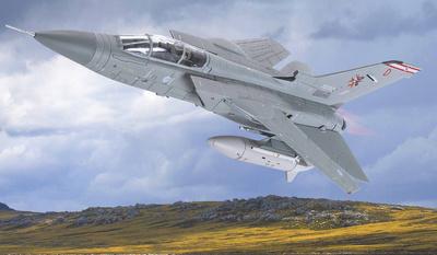 Panavia Tornado F.3, ZG797/D 'Desperation', RAF No.29 Squadron, Islas Malvinas, 1:72, Corgi