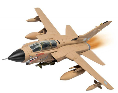Panavia Tornado GR.1, ZA447/EA 'MiG Eater' RAF No.15 Squadron, Operation Granby, 1991, 1:72, Corgi