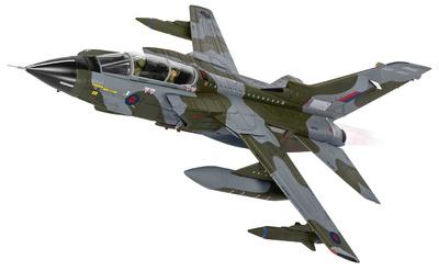 Panavia Tornado GR.4 ZG752, Esquema de su retiro, RAF Marham, Marzo, 2019, 1:72, Corgi