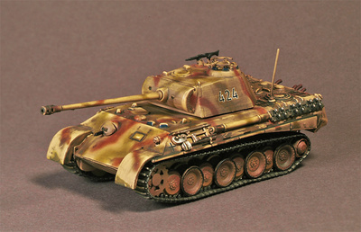 Panther Ausf A, Francia, 1944, 1:72, War Master