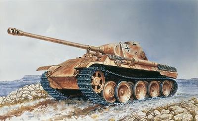 Panther Ausf. D, 1:35, Italeri