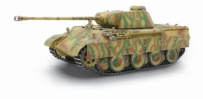 Panther Ausf.D, Late Production 1./Pz.Rgt.24, Francia, 1944, 1:72, Dragon Armor